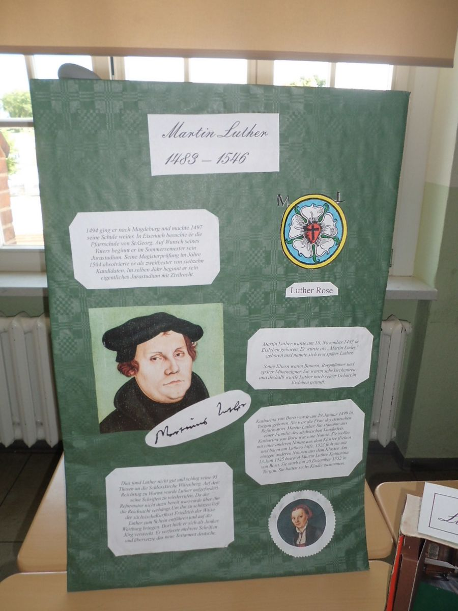 Martin Luther Lebensstationen